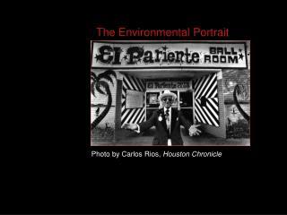 The Environmental Portrait