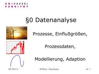§0 Datenanalyse
