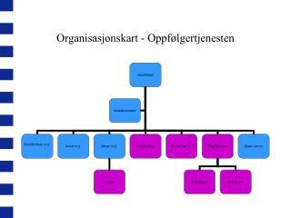 Organisasjonskart - Oppfølgertjenesten