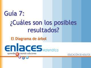Guía 7: ¿Cuáles son los posibles resultados?