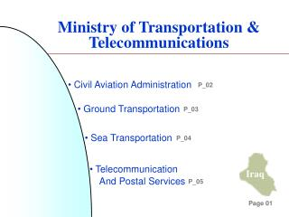Ministry of Transportation & Telecommunications