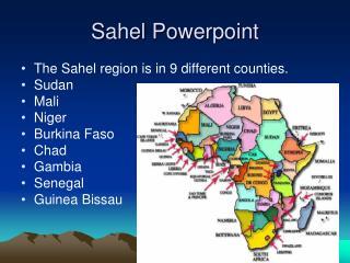 Sahel Powerpoint