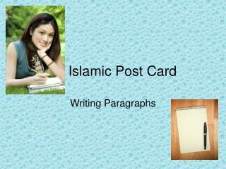 Islamic Post Card