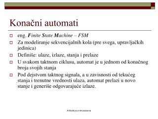 Konačni automati