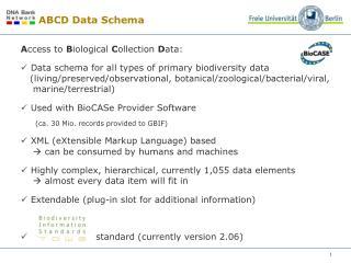 ABCD Data Schema