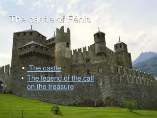 The castle of Fénis
