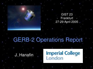 GERB-2 Operations Report