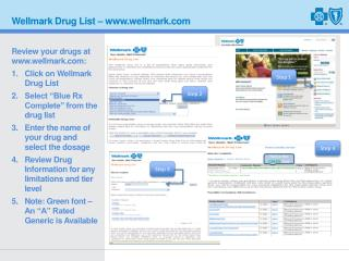 Wellmark Drug List � wellmark