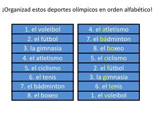 4 . el  atletismo