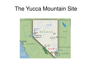 The Yucca Mountain Site