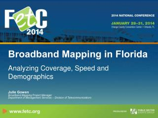 Broadband Mapping in Florida