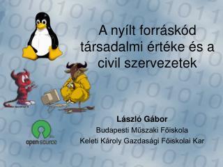A nyílt forráskód társadalmi értéke és a civil szervezetek