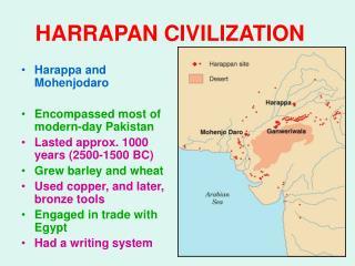 HARRAPAN CIVILIZATION