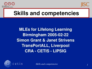 Competency Based  Performance Solution International