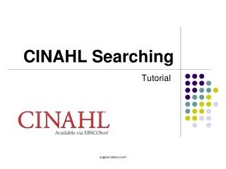CINAHL Searching