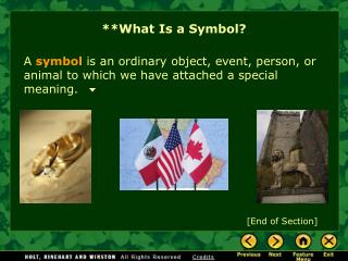 **What Is a Symbol?