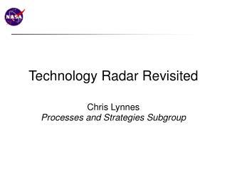 Technology Radar Revisited