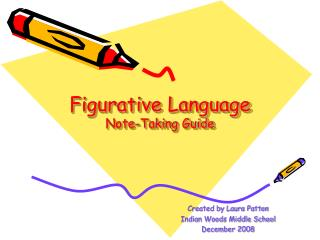 Figurative Language Note-Taking Guide