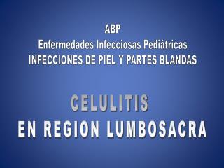 ABP Enfermedades Infecciosas Pediátricas INFECCIONES DE PIEL Y PARTES BLANDAS
