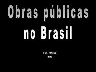 Obras públicas no Brasil