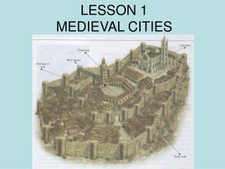 LESSON 1 MEDIEVAL CITIES
