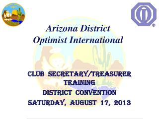 Arizona District  Optimist International