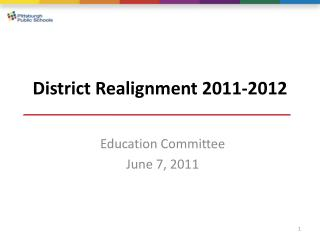 District Realignment 2011-2012