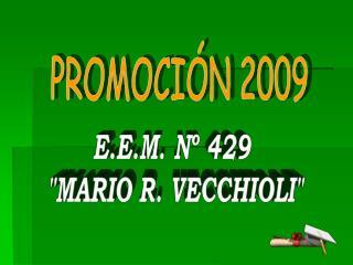 PROMOCI N 2009