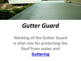 gutter leaf guard adelaide