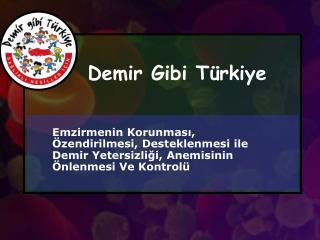 Demir Gibi Türkiye