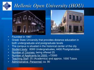 Hellenic Open University (HOU)