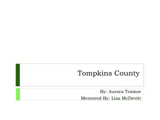 Tompkins County