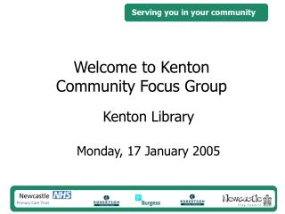 Welcome to Kenton Community Focus Group
