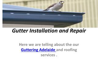 gutter guard installation adelaide
