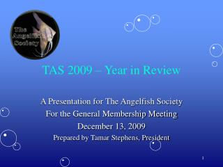 TAS 2009 – Year in Review