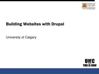 Building Websites with Drupal