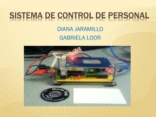 SISTEMA DE CONTROL DE PERSONAL