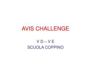 AVIS CHALLENGE