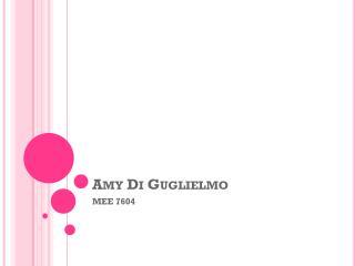 Amy Di Guglielmo