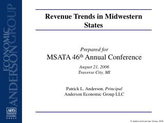 Revenue Trends in Midwestern States