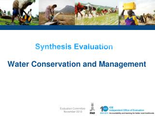 Water Conservation and Management