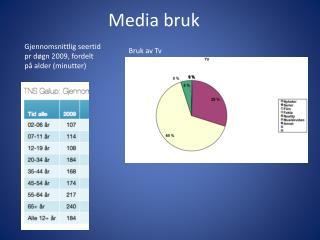 Media bruk