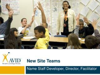 New Site  Teams