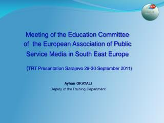 Meeting of the Education Committee