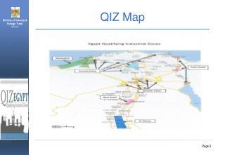 QIZ Map