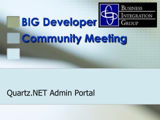 Quartz.NET Admin Portal