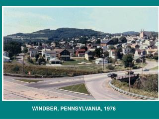 WINDBER, PENNSYLVANIA, 1976