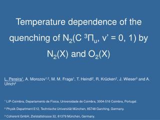 2P photon yield (P, T, humidity) = ?