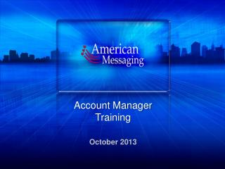 Account Manager Training