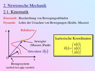 2. Newtonsche Mechanik